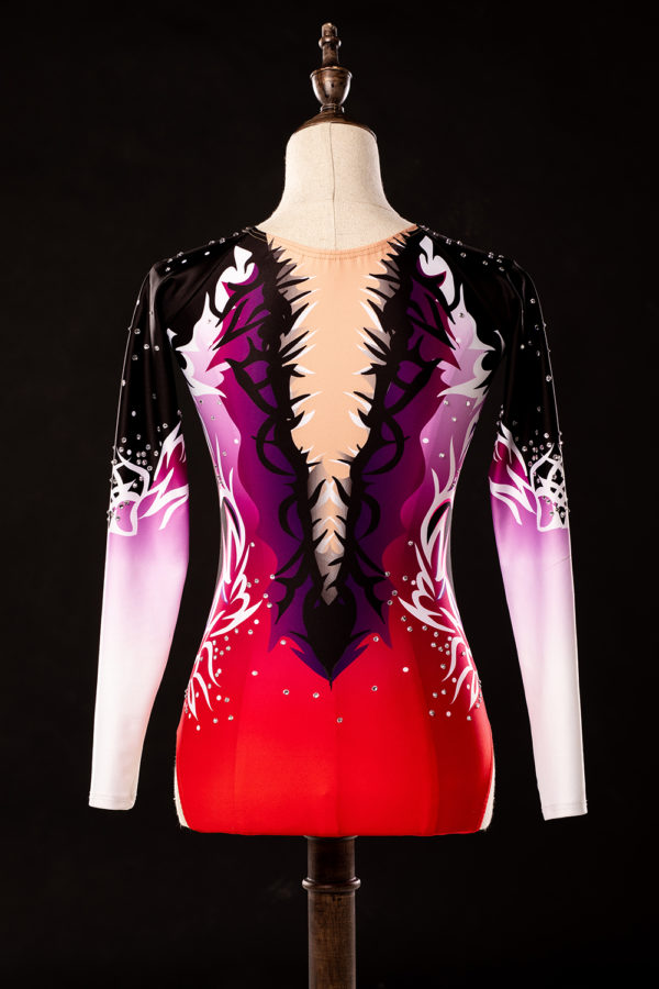 Maillot gimnasia ASTRAL