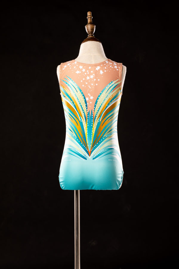 Gymnastics leotard W-061